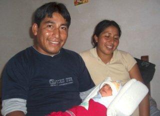 Adolfo, Feli y el bebe